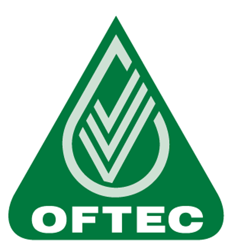 green flame plumbing heating renewables gloucestershire oftec registered technician logo