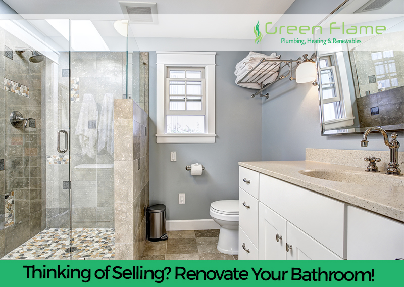 Thinking of Selling? Renovate Your Bathroom!