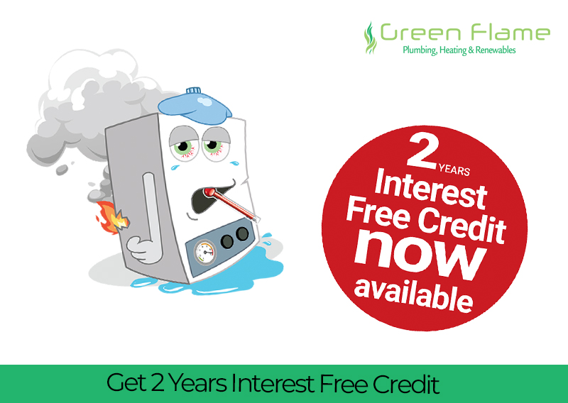 Get 2 Years Interest Free Credit